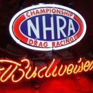"New Budweiser Beer Bar Drag Racing Championship NHRA Neon Sign 14""x 8"" [High Quality]"
