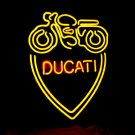 "Brand New DUCATI Racing Motorcycle Neon Light Sign 16""x14"" [High Quality]"