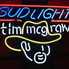 "Brand New Bud Light Tim Mcgraw Beer Bar Neon Light Sign 16""x 15"" [High Quality]"