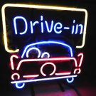 "Brand New Drive in Take out Car Beer Neon Light Sign 15""x 11"" [High Quality]"