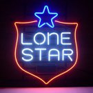 "Brand New Lone Star Texas Beer Bar Neon Light Sign 18""x16"" [High Quality]"