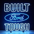 "Brand New FORD Built Tough Beer Bar Neon Light Sign 18""x 16"" [High Quality]"