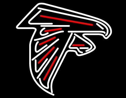 "Brand New NFL Atlanta Falcons Logo Football Beer Bar Neon Light Sign 17""x 14"" [High Quality]"