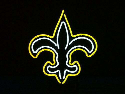 "Brand New Orleans Saints NFL Football Bar Neon Light Sign 16""x14"" [High Quality]"