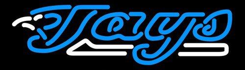 "Brand New MLB Toronto Blue Jays Baseball Neon Light Sign 15""x 10"" [High Quality]"