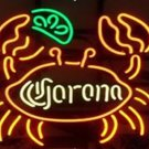 "Brand New Corona Big Crab Beer Neon Light Sign 18""x 15"" [High Quality]"