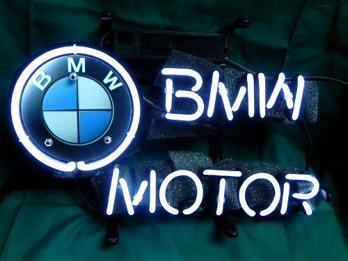 "Brand New BMW Car Racing Beer Bar Neon Light Sign 14""x 8"" [High Quality]"