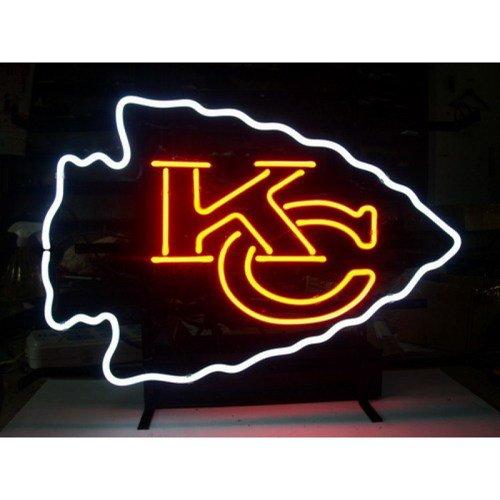"""Brand New Kansas City KC Chiefs NFL Football Beer Bar Neon Light Sign 16""""x 13"""" [High Quality]"""