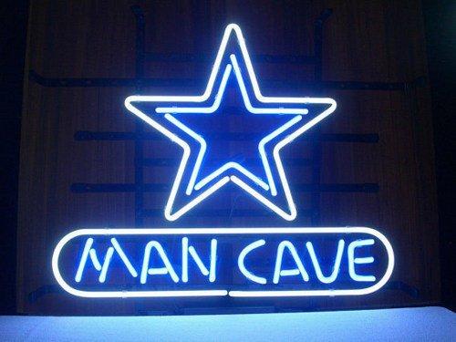 "Brand New NFL Football Dallas Cowboys Man Cave Bar Neon Light Sign 18""x 16"" [High Quality]"