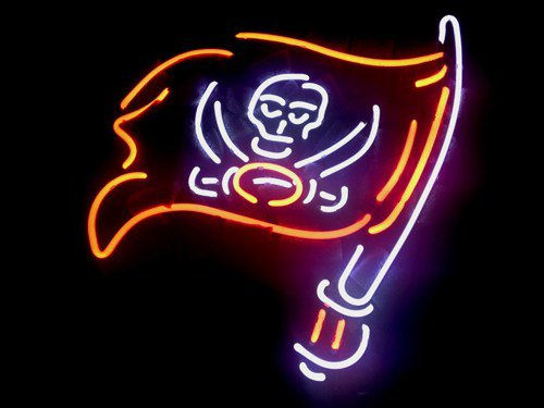 Brand New Tampa Bay Buccaneers NFL Football Beer Neon Light Sign [High Quality]