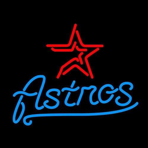 Brand New Houston Astros NFL Football Beer Bar Neon Light Sign [High Quality]
