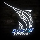 "Brand New Busch Light Shark Fish Logo Neon Light Sign 16""x13"" [High Quality]"