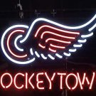"Brand New NHL Detroit Red Wings Beer Neon Light Sign 16""x 14"" [High Quality]"