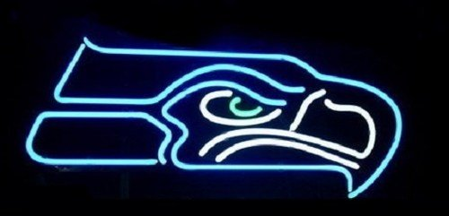 """Brand New Football Seattle Seahawks NFL Beer Bar Neon Light Sign 15""""x 10"""" [High Quality]"""