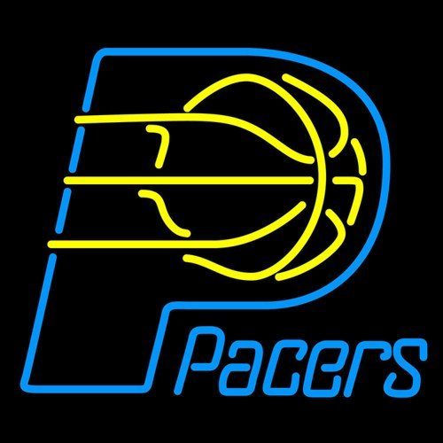 """Brand New NBA Indiana Pacers Basketball Beer Bar Pub Neon Light Sign 16""""x14"""" [High Quality]"""