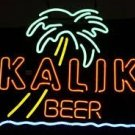 "Brand New KALIK Beer Palm Tree Beer Bar Neon Light Sign 17""x 14"" [High Quality]"