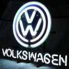 "Brand New Volkswagen VW German Auto Car Neon Light Sign 18""x 16"" [High Quality]"