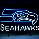"Brand New Football Seattle Seahawks NFL Beer Neon Sign 16""x 14"" [High Quality]"