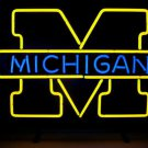 "Brand New NCAA Michigan Wolverines College Beer Bar Neon Light Sign 18""x 16"" [High Quality]"