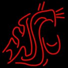"Brand New NCAA Washington State Cougars College Beer Bar Neon Light Sign 18""x16"" [High Quality]"