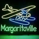 "Brand New Jimmy Buffett's Margaritaville Airplane Beer Neon Light Sign 17""x 15"" [High Quality]"