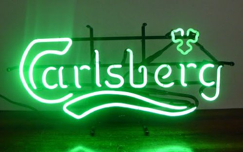 "Brand New Carlsberg enjoy Beer Bar Pub Neon Light Sign 16""x 12"" [High Quality]"
