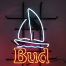 "Brand New Bud Light Bud Sailboat Beer Bar Neon Light Sign 17""x15"" [High Quality]"