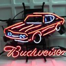 "Brand New Budweiser Car Auto Dealer Beer Bar Pub Neon Light Sign 17""x 16"" [High Quality]"