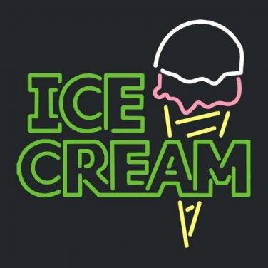"Brand New Ice Cream enjoy Beer Bar Pub Neon Light Sign 18""x16"" [High Quality]"