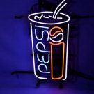 "Brand New Pepsi Coca Cola Coke Soda Pub Neon Light Sign 18""x 16"" [High Quality]"