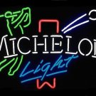 "Brand New Michelob Light Logo Golf Player Beer Bar Pub Neon Light Sign 18""x 15"" [High Quality]"