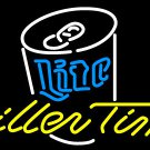 "Brand New Miller Lite Life Time Live Pub Beer Bar Pub Neon Light Sign 17""x 15"" [High Quality]"