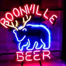 "Brand New BOONVILLE Beer Deer Handcrafted Neon Light Sign 16""x14"" [High Quality]"