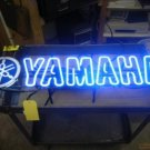 "Brand New YAMAHA Banner Logo Motorcycle Racing Beer Bar Neon Light Sign 20""x 10"" [High Quality]"