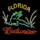 "Brand New Budweiser Florida Pub Logo Beer Bar Pub Neon Light Sign 16""x15"" [High Quality]"