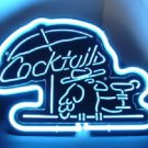 "Brand New Cocktails Parrot 3D Acrylic Beer Bar Neon Ligh 10""x 8"" [High Quality]"