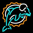 "Brand New NFL Miami Dolphins Beer Bar Neon Light Sign 16""x13"" [High Quality]"