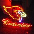 "Brand New NFL Arizona Cardinals Budweiser Beer Bar Pub Neon Light Sign 16""x 15"" [High Quality]"