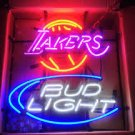 "Brand New NBA Lakers Bud Light Beer Bar Neon Light Sign 16""x14"" [High Quality]"