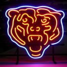 "Brand New Chicago Bears NFL Football Beer Bar Neon Light Sign 16""x 14"" [High Quality]"