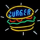 "Brand New Burger Fast Food Beer Bar Neon Light Sign 16""x 14"" [High Quality]"
