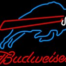 "Brand New NFL Budweiser Buffalo Bills Beer Bar Pub Neon Light Sign 16""x 14"" [High Quality]"