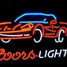 "Brand New Coors Light Car Beer Bar Neon Light Sign 16""x14"" [High Quality]"