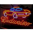 "Brand New Budweiser Car Dealer Beer Bar Neon Light Sign 16""x 14"" [High Quality]"