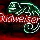 """Brand New Budweiser Liz Lizard Beer Bar Neon Light Sign 16""""x 14"""" [High Quality]"""