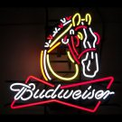 "Brand New Horse Clydesdale Budweiser Neon Light Sign 22""x18"" [High Quality]"