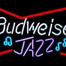 "Brand New Budweiser Jazz Bottie Beer Bar Pub Neon Light Sign 17""x14"" [High Quality]"