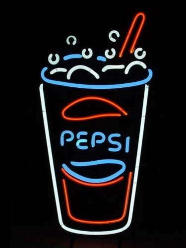 "Brand New Pepsi Coca Cola Coke Soda Beer Bar Pub Neon Light Sign 17""x14"""