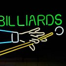 "Brand New Billiards Snooker Pool Beer Bar Neon Light Sign 16""x14"" [High Quality]"