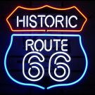 "Brand New Historic Route 66 Highway Neon Light Sign 18""x 14"" [High Quality]"